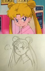 Sailor Moon - the redraw thing by ShinigamiNamine