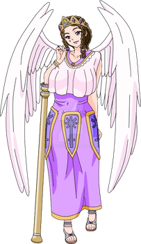 Zatch Bell OC - Queen Juno, Goddess of Marriage by TDPNeji