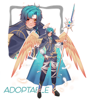 Archangel Adoptable. [SOLD] by ArthurTNG