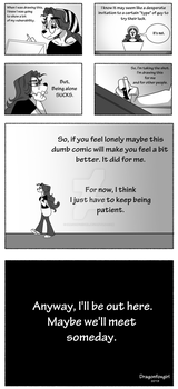 Lonely page 3 by Dragonfoxgirl
