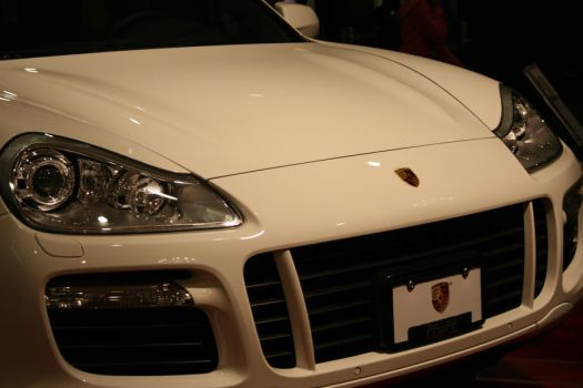 Porsche - Front Angle White by suhaildawood