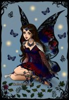 Evening fairy by annetelf