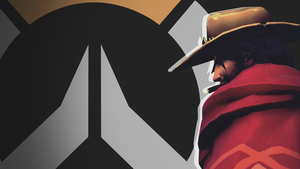 Overwatch Side Profile Wallpaper - Mccree by PT-Desu