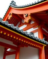 Kyoto Imperial Palace- Roof by Alexandra-chan