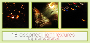 Assorted Light Textures 3 by mangoninja
