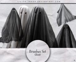 Ghost Brushes #4 by LilithDemoness