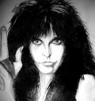 Blackie Lawless WASP by joannatempest