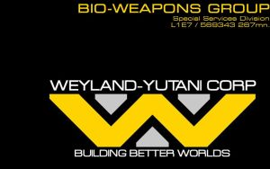 Weyland-Yutani Corp generic business card by eaglespear