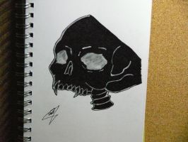 skull by JIGGSAW-The-IMMORTAL
