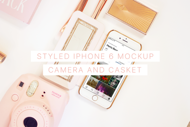 Styled iPhone 6 Mockup by theanthnonyrich