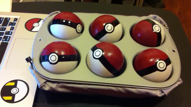 Light-up Pokeballs with sound! by patricktomas