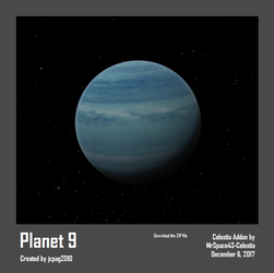 Planet 9 - Celestia Addon by MrSpace43-Celestia