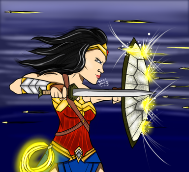 Wonder Woman by DinomanInc