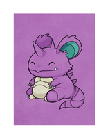 Nidoking by beyx