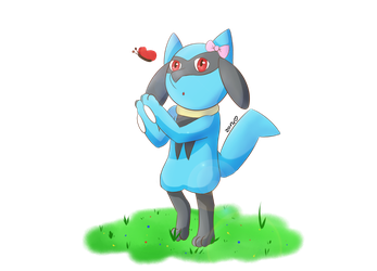 AT | Oc Riolu4aural by ZoruDawn