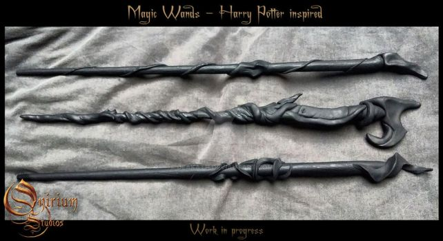 Magic Wands - WIP by Deakath