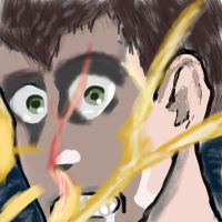 Bertolt Hoover in Brushes // AOT by SweetScarletSky