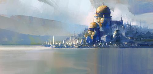 City by the sea by gerezon