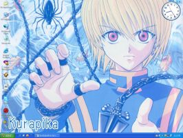 HunterxHunter-Kurapika Wall by IloveEdandAl