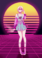 Contest Entry: Vaporbabe by Necomara