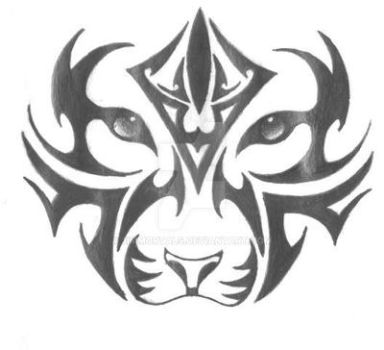 Tiger Face by 3immortals
