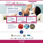 CariCord.com homepage design by tlsivart