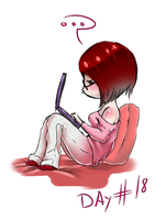 30 day challenge: Day 18 (30/01/14) by HellAwaitsArts
