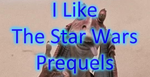I Like the Star Wars Prequels (Stamp) by Unownace