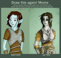 Draw this again - Skyrim by ImperialCharles