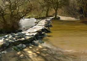 Tarr Steps by tonyhurst