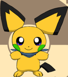 Donnie the Shiny Pichu by Pokemon-All-4-One