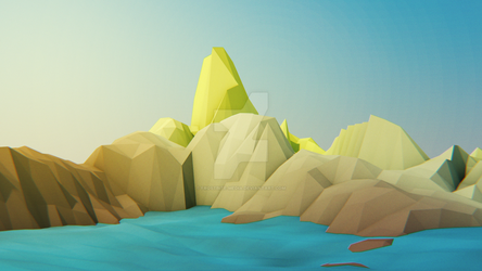 LowPoly Mountains by FrostBite-Media