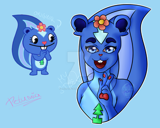 Petunia - my style redraw by Lali-the-Bunny
