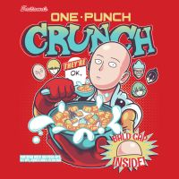 One Punch Crunch (Shirt Design) by KindaCreative