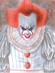 Pennywise (IT 2017) by danielcamilo
