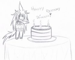 Happy Birthday Princess! by KingDarkCatastrophe