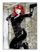 Black Widow by martheus