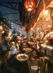 UDON art of CAPCOM cover by arnistotle