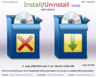 Install-Uninstall icons by vaksa