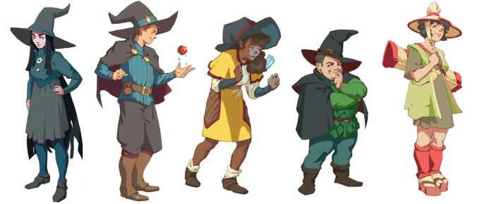 Character sketches by Lord-of-the-slugs