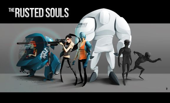 The Rusted Souls Group Shot by stuter