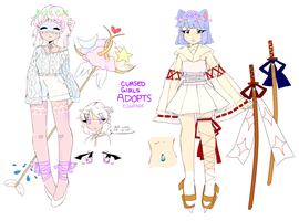 cursed girls auction! closed by eggsdee