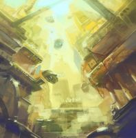 The Golden Capital by unisaul