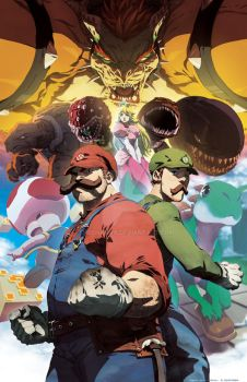 Enter the Mushroom Kingdom