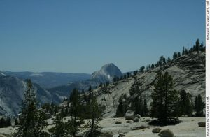 Yosemite 10 view Half Dome by RoonToo