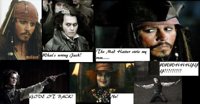 Hatter Stole Jack's Rum 2 by totallyjohnnydepp