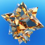 medial rhombic triacontahedron by lyc