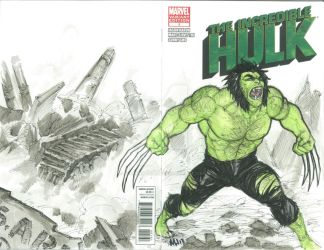What If Wolverine Was The Hulk? by FranklinTKeener