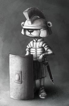 Roman Soldier by JenTheThirdGal