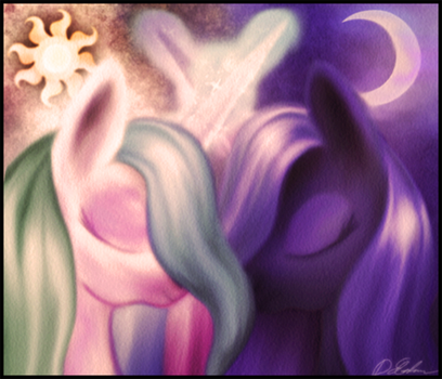 Sisters by macalaniaa